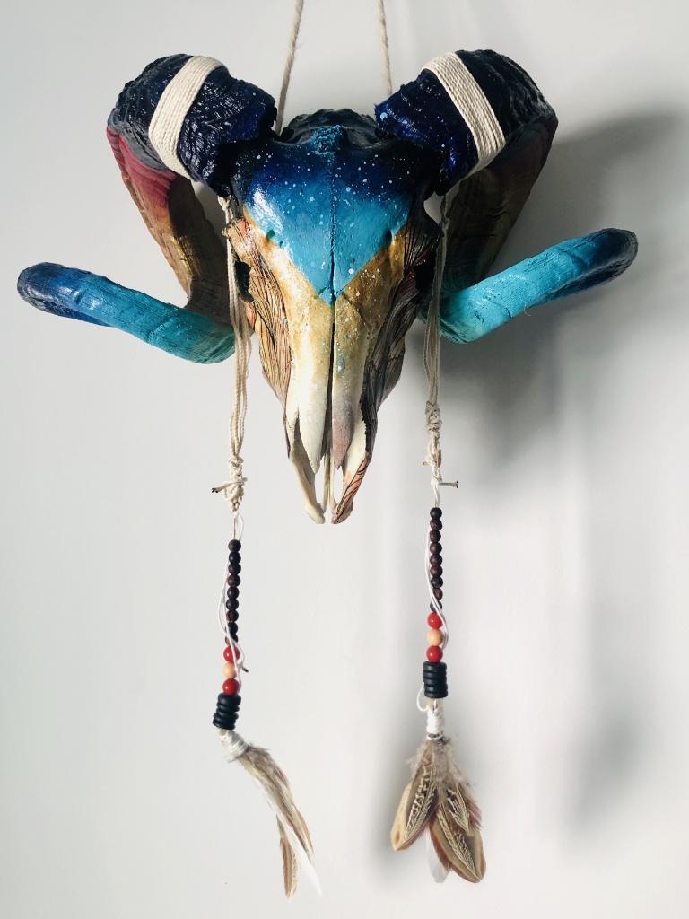 Custom Skull Bélier