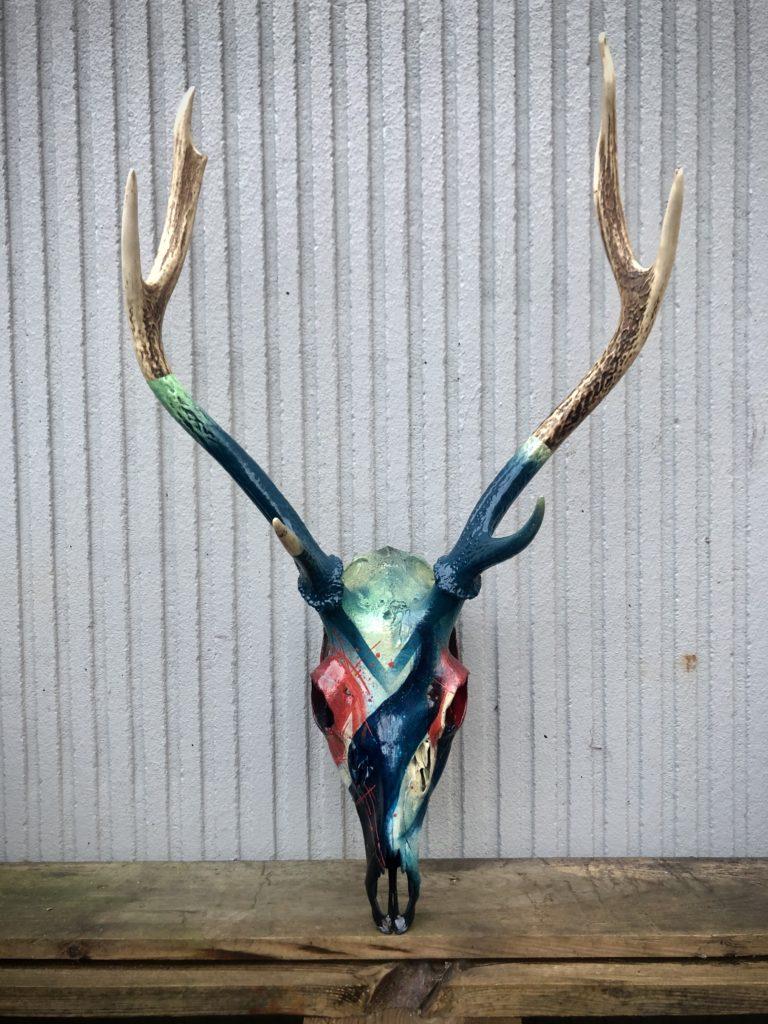 Custom Skull Cerf