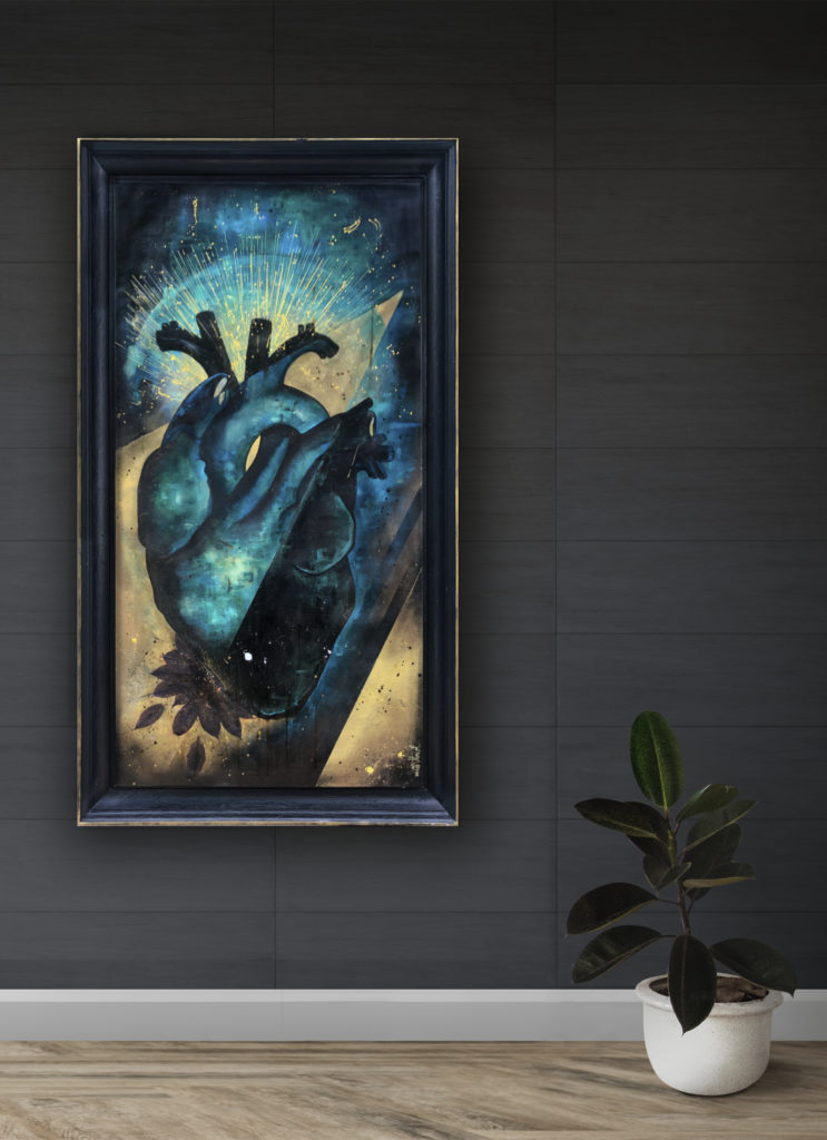 Peinture sur Toile Break my Heart