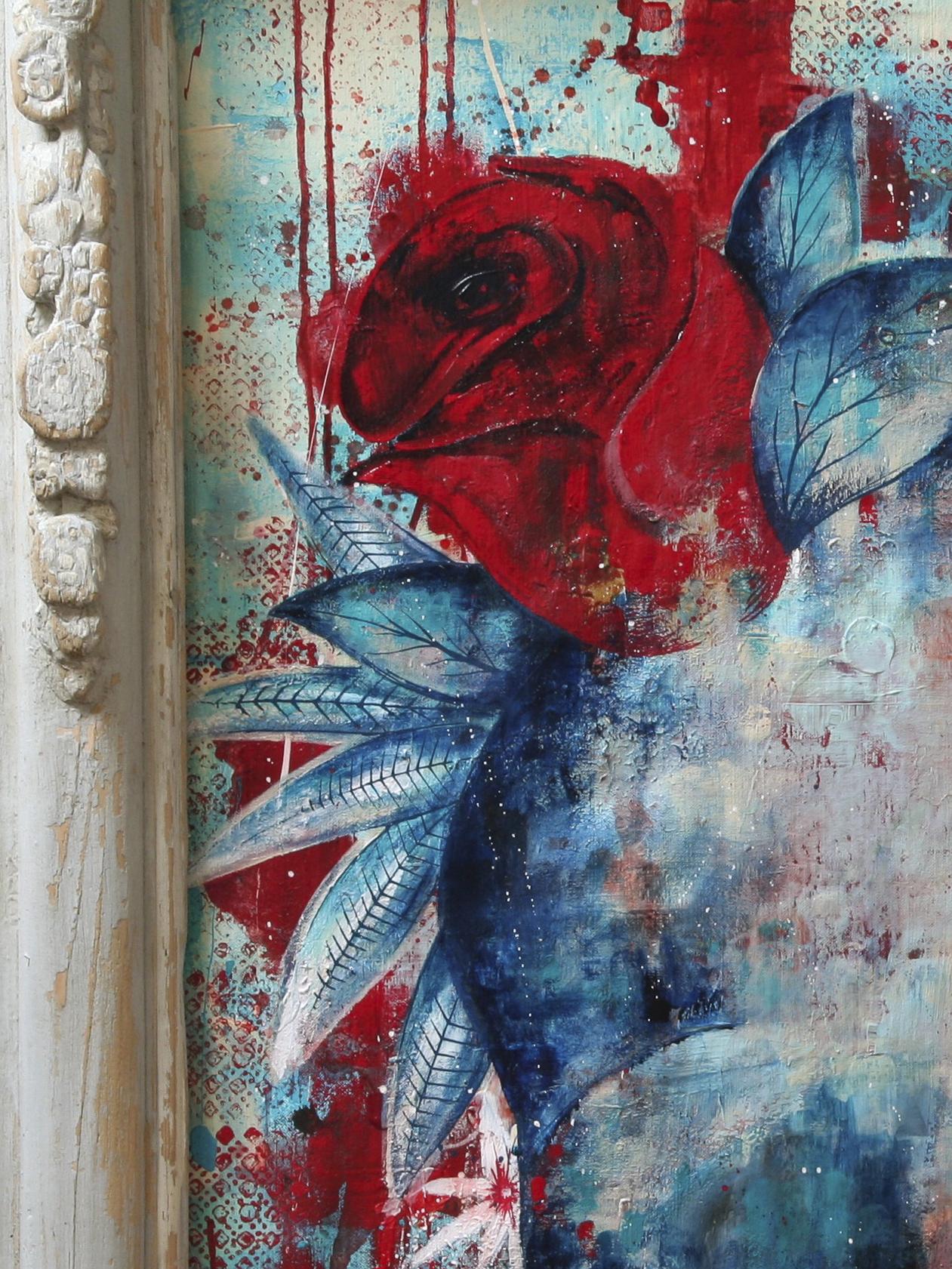 Details Peinture sur Toile Gimme Roses