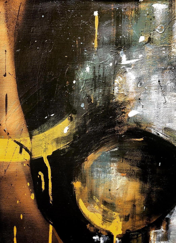 Details Peinture sur Toile Tropical Skull