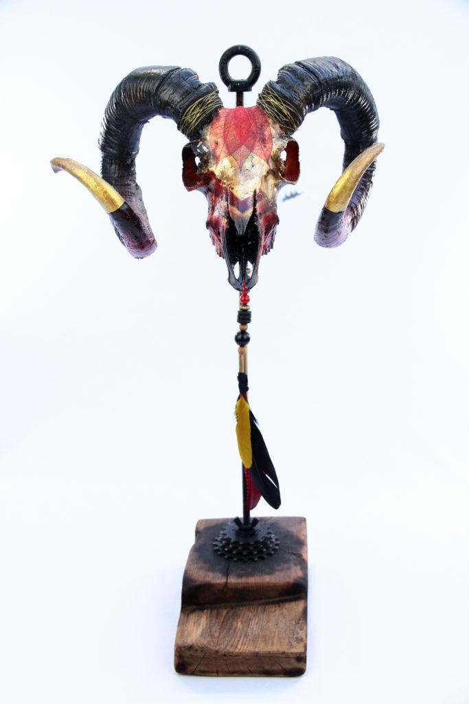 Miss Vitriol - Custom Skull Belier