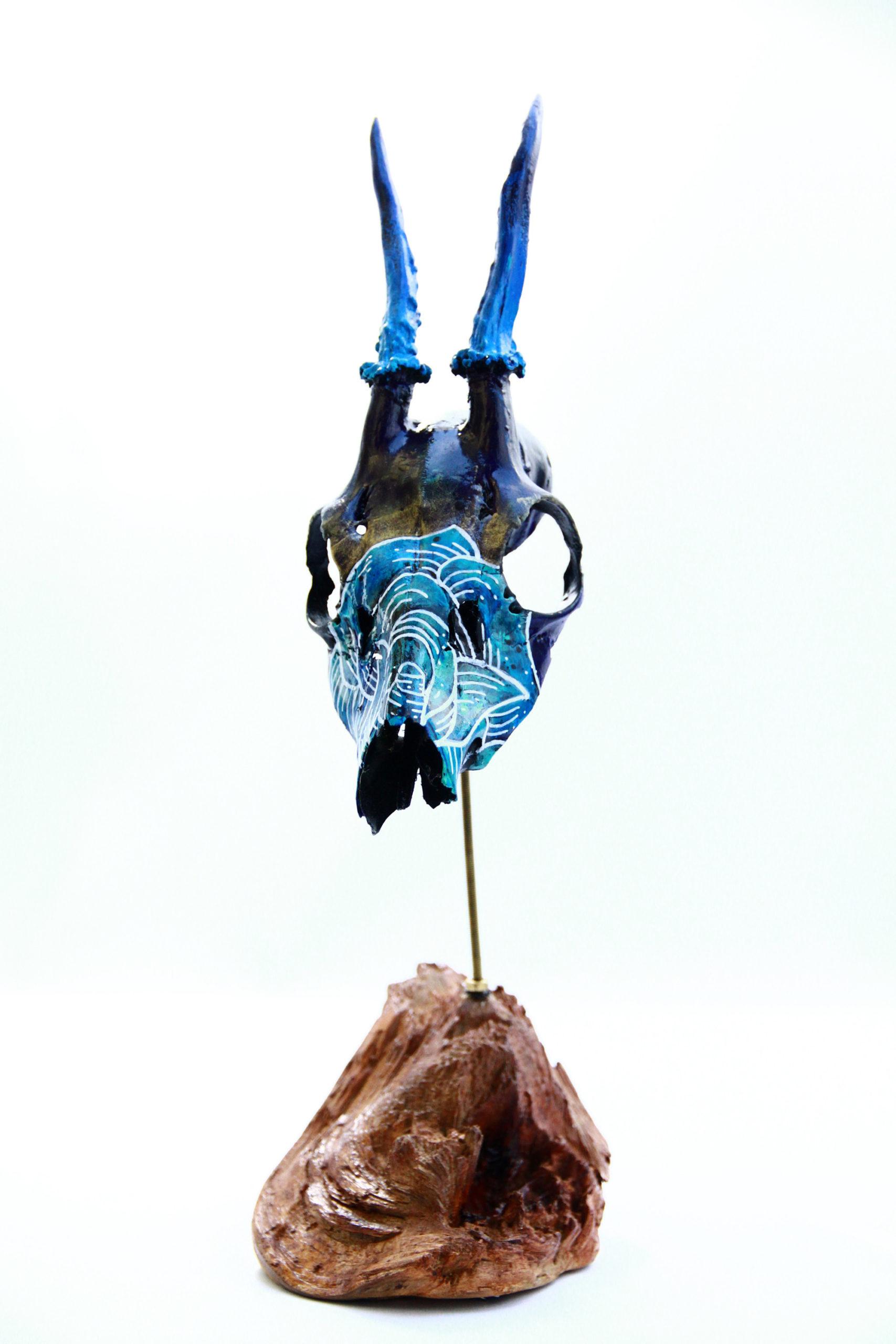 Custom Skull Chevreuil