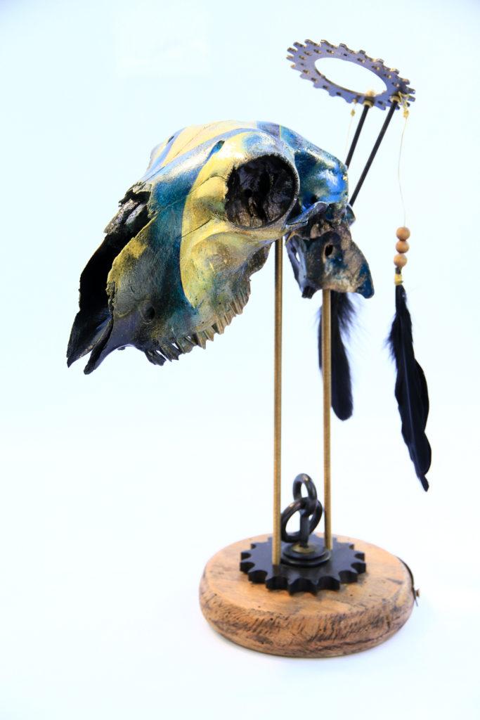 Miss Vitriol - Custom Skull Brebis
